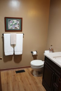 After.  A softer, more spa-like bathroom.