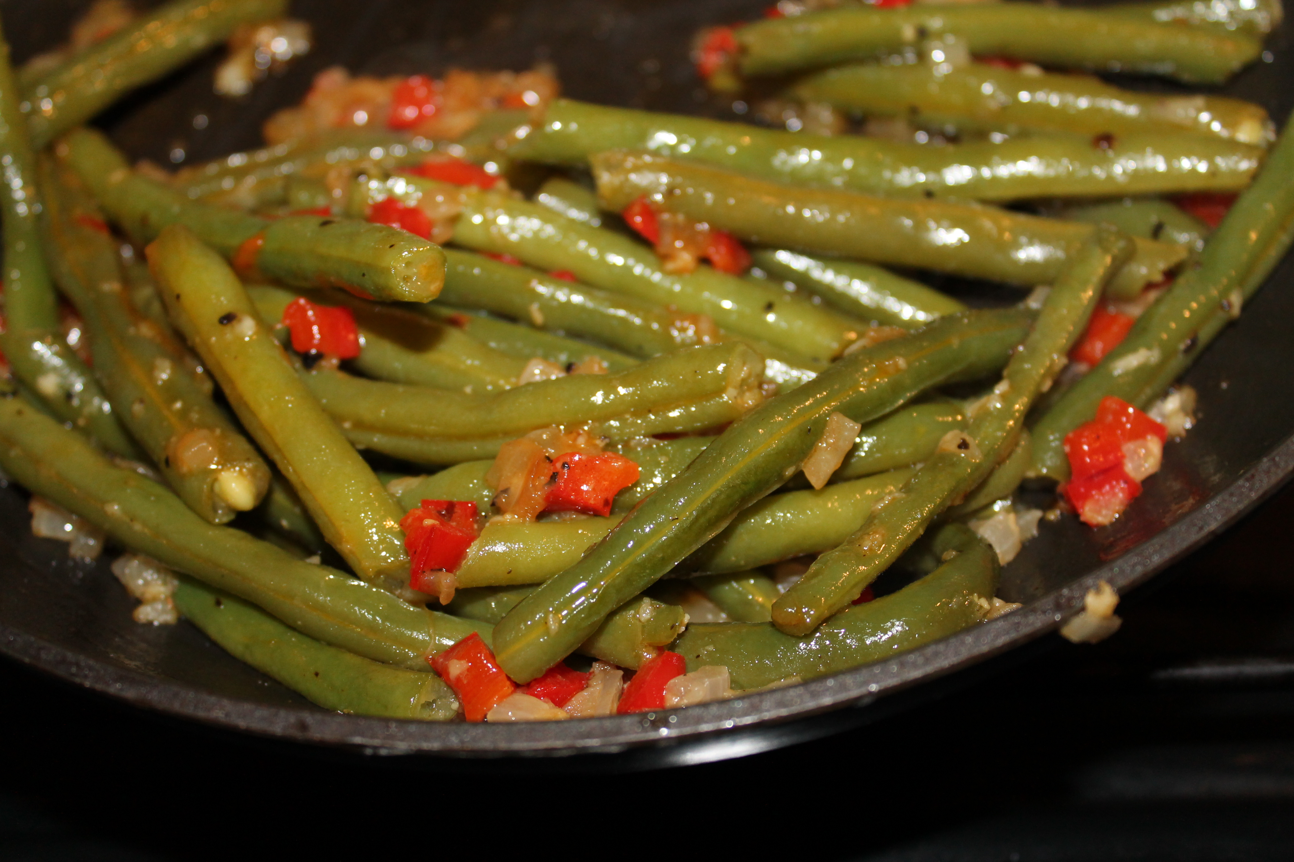 Green Beans Ala Pioneer Woman Three Forks In The Road