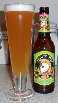 Shock Top Applecrisp Honey Wheat